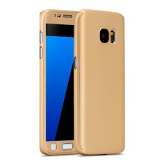 iPaky Case 360 Full Protection iPhone Samsung J7 2017 - Gold