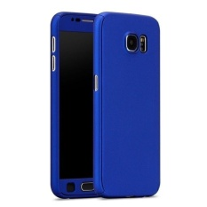 iPaky Case 360 Full Protection iPhone Samsung J7 2017 - Navy