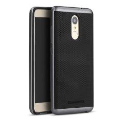 Ipaky Case Xiaomi Redmi Note 3 / Redmi Note 3 Pro Neo Hybrid Series Original - Biru Navi
