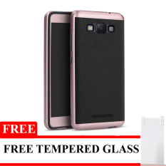 IPAKY Polycarbonate Case Untuk  Samsung Galaxy Z2 - Rose Gold - Free Tempered Glass