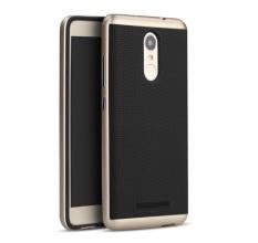 IPAKY Polycarbonate Case  Untuk Xiaomi Redmi Note 3 / Note 3 Pro - Gold