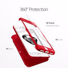 Harga Ipaky Premium Case Front Back 360 Degree Full Protection With Tempered Glass For Xiaomi Redmi 4X Random Color Free Handsfree Paling Murah