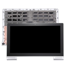 IPartsBuy 13.3 Inch Lenovo YOGA Tablet 2 Pro 1380 LCD Layar + Layar Sentuh Digitizer dengan Frame (Silver) -Intl