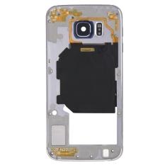 Toko Ipartsbuy Back Plate Housing Camera Lens Penggantian Dengan Tombol Samping Dan Speaker Ringer Buzzer Untuk Samsung Galaxy S6 G920 Grey Lengkap