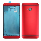 Toko Ipartsbuy For Htc One M7 801E Full Housing Cover Front Housing Lcd Frame Bezel Plate Back Cover Red Intl Tiongkok