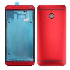 Toko Ipartsbuy For Htc One M7 801E Full Housing Cover Front Housing Lcd Frame Bezel Plate Back Cover Red Intl Online Di Tiongkok