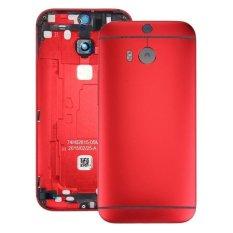 Harga Ipartsbuy Untuk Htc One M8 Penutup Belakang Rumah Merah Intl Oem Original