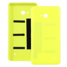 Ipartsbuy For Microsoft Lumia 640 Frosted Surface Plastic Back Housing Cover Yellow Intl Terbaru