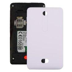 Spesifikasi Ipartsbuy Untuk Nokia Asha 501 Battery Back Cover Putih Intl