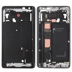 Ipartsbuy Depan Kerangka LCD Bingkai Bezel Piring untuk Samsung Galaksi Note Sisi/N915 (Hitam)-Internasional