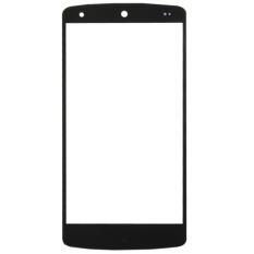IPartsBuy Kaca Luar Layar Depan Lensa Pengganti Google Nexus 5 (hitam)