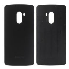 I Parts Beli Lenovo Getaran K4 Note/A7010 Baterai Penutup Belakang (Hitam)-Intl