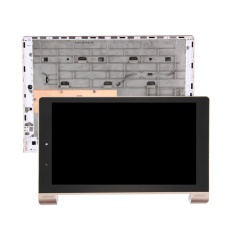 IPartsBuy Lenovo YOGA Tablet 10 HD +/B8080/B8080-F LCD Tampilan + Layar Sentuh Digitizer dengan Frame (emas) -Intl