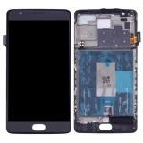 Ipartsbuy Oneplus 3 A3003 Lcd Screen Touch Screen Digitizer Assembly With Frame Black Intl Tiongkok