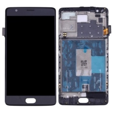 Beli Ipartsbuy Oneplus 3 A3003 Lcd Screen Touch Screen Digitizer Assembly With Frame Black Intl Sunsky