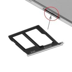 Ipartsbuy SIM Baki Kartu dan Mikro Sd Kartu Tray Penggantian untuk Samsung Galaksi A9 (2016) /A9000 (Hitam)-Internasional