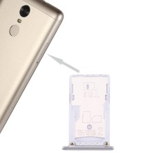 Rp 71.000 iPartsBuy Xiaomi Redmi Note 3 (Qualcomm Version) SIM and SIM / TF Card Tray(Silver) - intlIDR71000