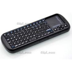 IPazzPort 2.4G RF Mini Wireless Keyboard Genggam Touchpadfor TV/PC 172167158799-Intl