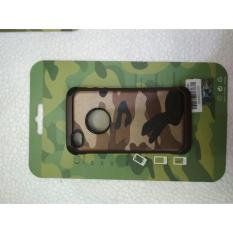 iPhone 4 4S 4G Case ARMY Camoflase Slim Armor - Brown Army