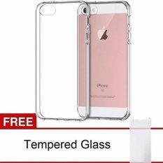 iPhone 5 / 5S Anticrack / Anti Crack ACRYLIC Case Premium Quality   - Fuze / Fyber - Clear + Free P