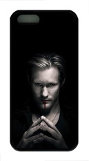 iPhone 5 Case, iPhone 5S Cases - Scratch-Resistant Soft Case Bumper for iPhone 5/5s True Blood Alexander Skarsgard Eric Northman Slim Fit White Rubber Back Case for iPhone 5/5S - intl