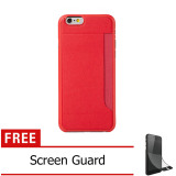 Harga Iphone 6 4 7 O Coat 3 Pocket Ultra Slim Light Weigth Case Red Lengkap
