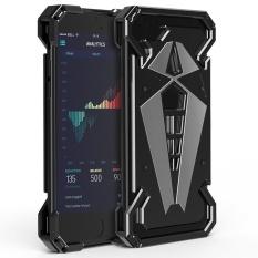 Mooncase untuk IPhone 6 Plus / 6S Plus Case [armor Premium] Spider Aluminium Bumper Metal Case [Ganti Yang Dapat Diganti Backplane] Shockproof Pelindung Rugged Cover untuk IPhone 6 Plus / 6S Plus 5.5