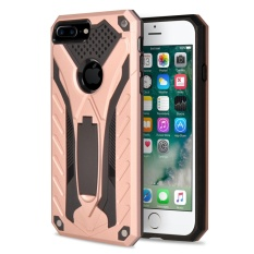 IPhone 7 Plus Case Moon Case Detachable 2 In 1 Armor Hibrida Rusak Shockproof Defender Stand Case Cover untuk IPhone 7 Plus 5.5