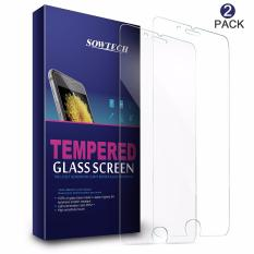 Review Iphone 7 Screen Protector Sowtech 2 Pack Premium Tempered Glass Screen Protector Film Untuk Apple Iphone 7 4 7 Inch Iphone 7 Intl