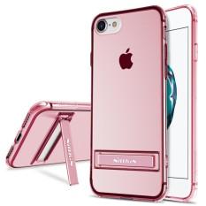 IPhone 8 Case, NILLKIN Yg Tahan Pukulan II Seri Bening Lembut TPU Case dengan Stand Penyangga Penutup Belakang Ultra Tipis Ramping Sesuai untuk Apple iPhone 8 4.7