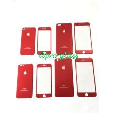 Iphone 8+ RED Special Edt Titanium Alloy Premium Tempered Glass