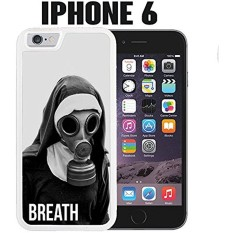 iPhone Case Breath Nun with Gas Mask for iPhone 6 Rubber White (Ships from CA) - intl