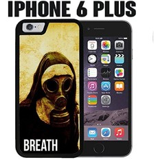 iPhone Case Grunge Vintage Nun Gas Mask for iPhone 6 PLUS Rubber Black (Ships from CA) - intl