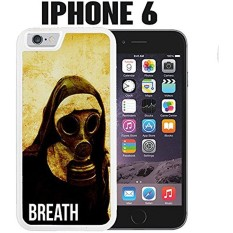 iPhone Case Grunge Vintage Nun Gas Mask for iPhone 6 Rubber White (Ships from CA) - intl