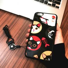 Iphone6 Plus Ini Berfungsi untuk Membuat Mulut Apple Identitas Silikon Tutup Pelindung