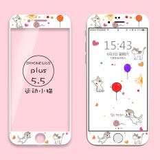 Iphone6s/6plus lucu enam layar penuh filter warna pelindung layar pelindung layar pelindung layar O