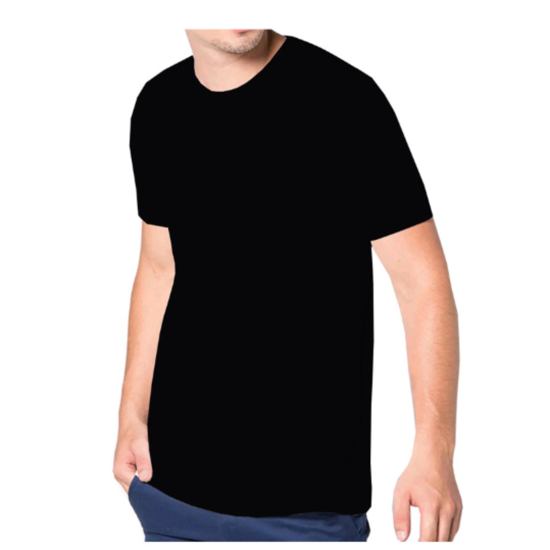 Irfan Store95 - Kaos Polos Pendek O Nenk - Hitam