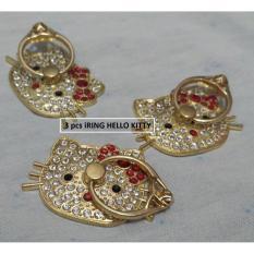Beli Iring Hello Kitty 3 Pcs Ring Handphone Disney Dengan Harga Terjangkau