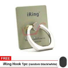 Promo Iring Mobile Phone Stent Standing Holder Champaigne Gratis Iring Hook Murah