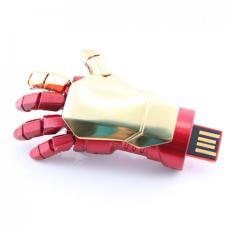 Rimas Iron Man Gloves Usb 2.0 Flashdisk - 16gb - USB Flash Drive Flash Disk Unik Karakter SuperHero Berkualitas