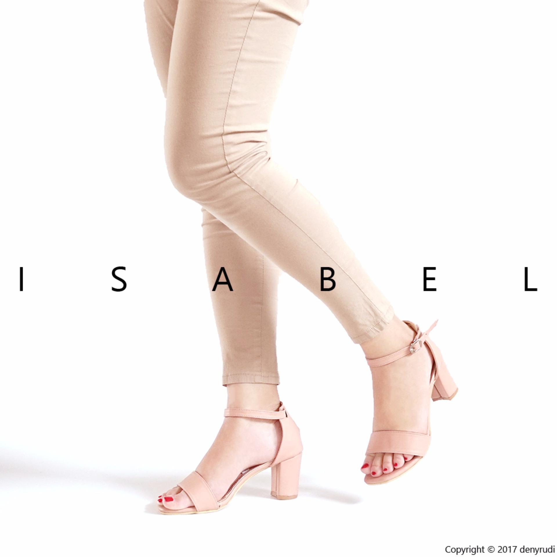 Beli Isabel Sepatu Wanita Hak Tinggi Nikita Heels Peach Online Indonesia