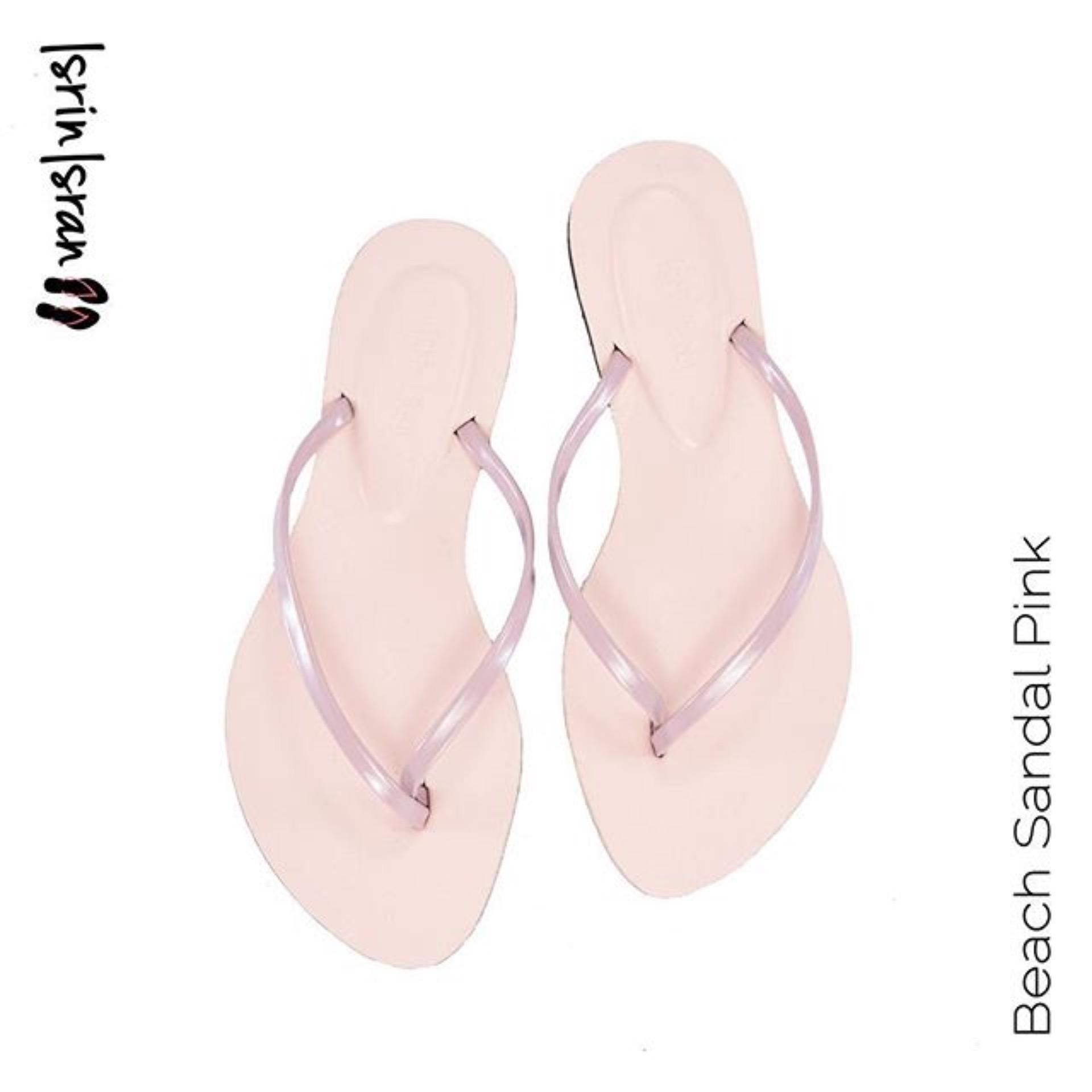 Promo Isrin Isran Beach Sandal Pink Isrin Isran