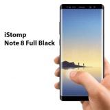 Beli Istomp Premium Tempered Glass Full For Samsung Galaxy Note 8 Black Terbaru