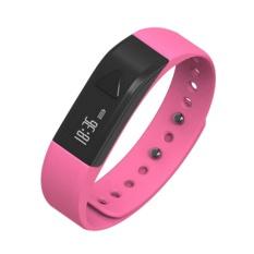 Iwown I5 Gelang Pintar Gym Jam Tangan Gelang Band Heart Rate Monitor FitnessWearable Pelacak Olahraga Gelang Tidur Aktivitas Tahan Air Gelang-Intl