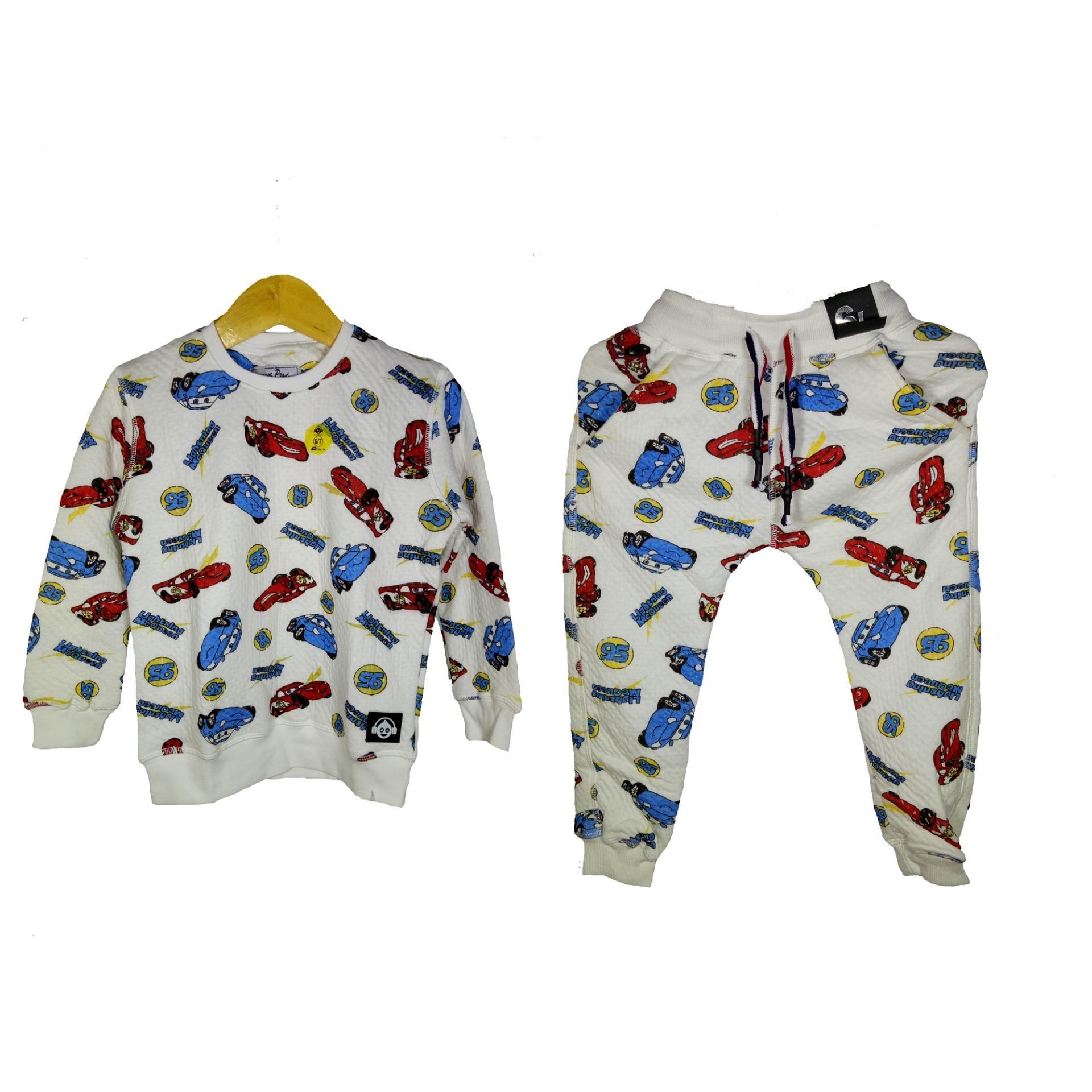 IZY – Fashion Stelan Sweater dan Celana Joger  Anak