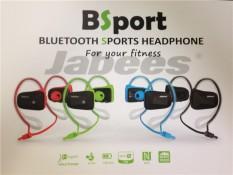 Jabees BSport Professional Sports Waterproof Bluetooth 4.0 Headset Ear Stereo Headset Universal - intl