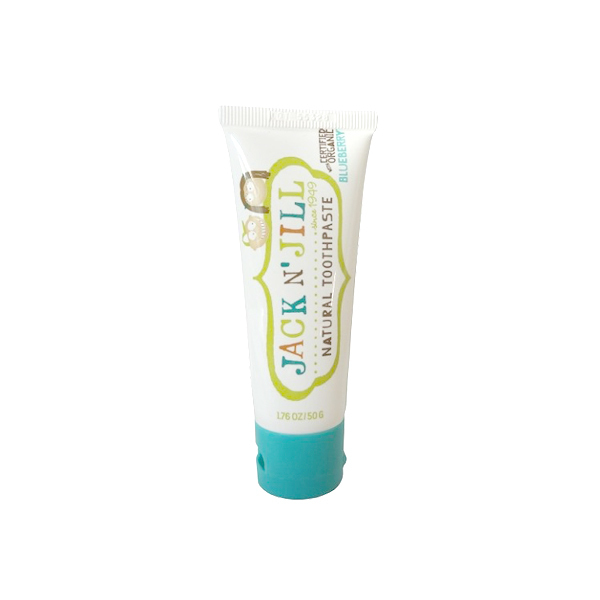 Jack N Jill Natural Organic Toothpaste - Blueberry 50g By Bos Vitamin.