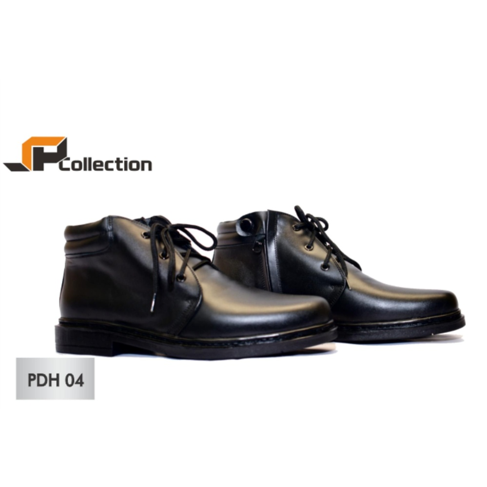 Ulasan Jaferi Sepatu Pantofel Pdh 04 Warna Hitam Bahan Kulit Sapi Asli Cocok Untuk Pegawai Kantoran Meeting Dinas Untuk Polri Tni Security Pegawai Negeri Guru Dosen Dll