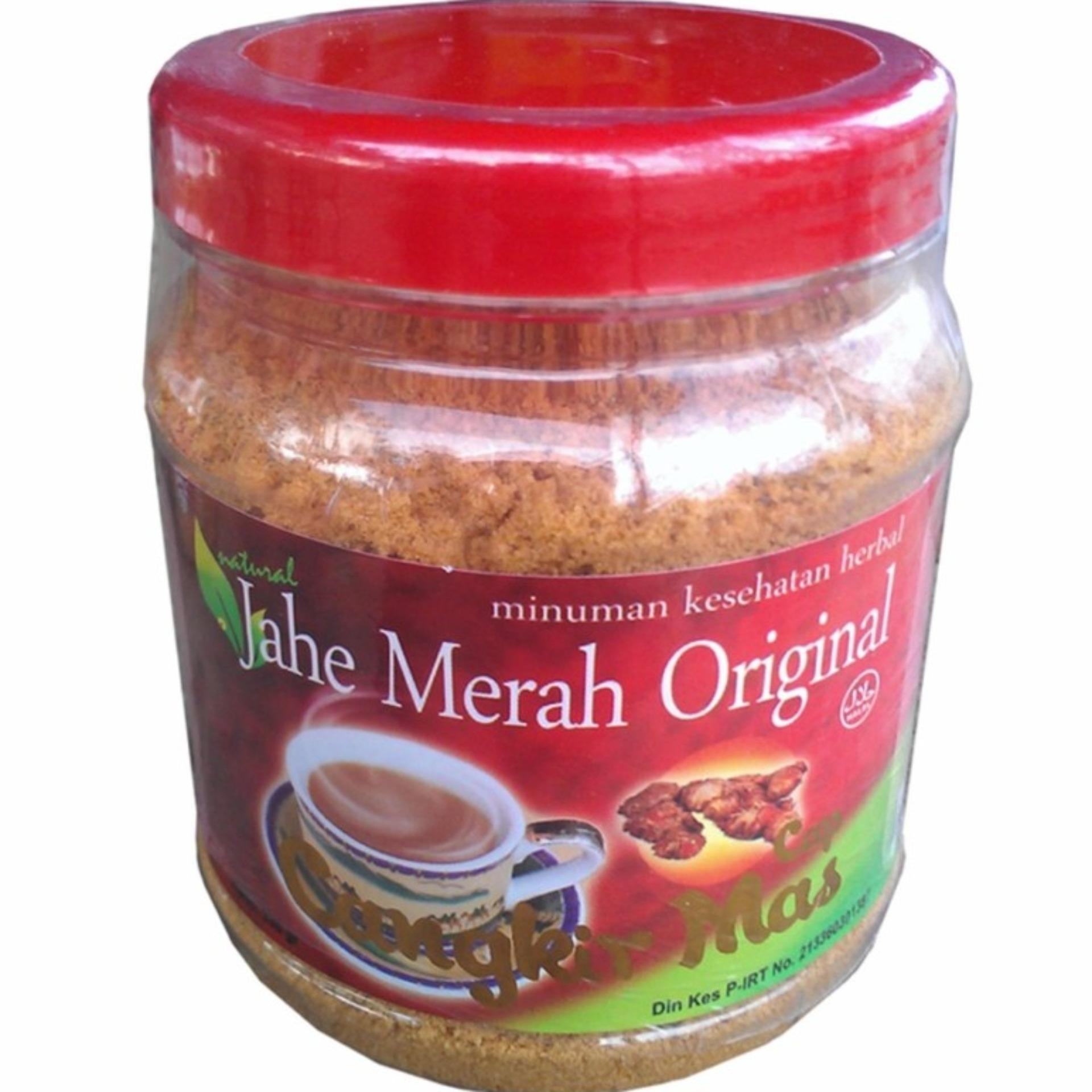Jahe Merah Original Cangkir Mas -1 toples