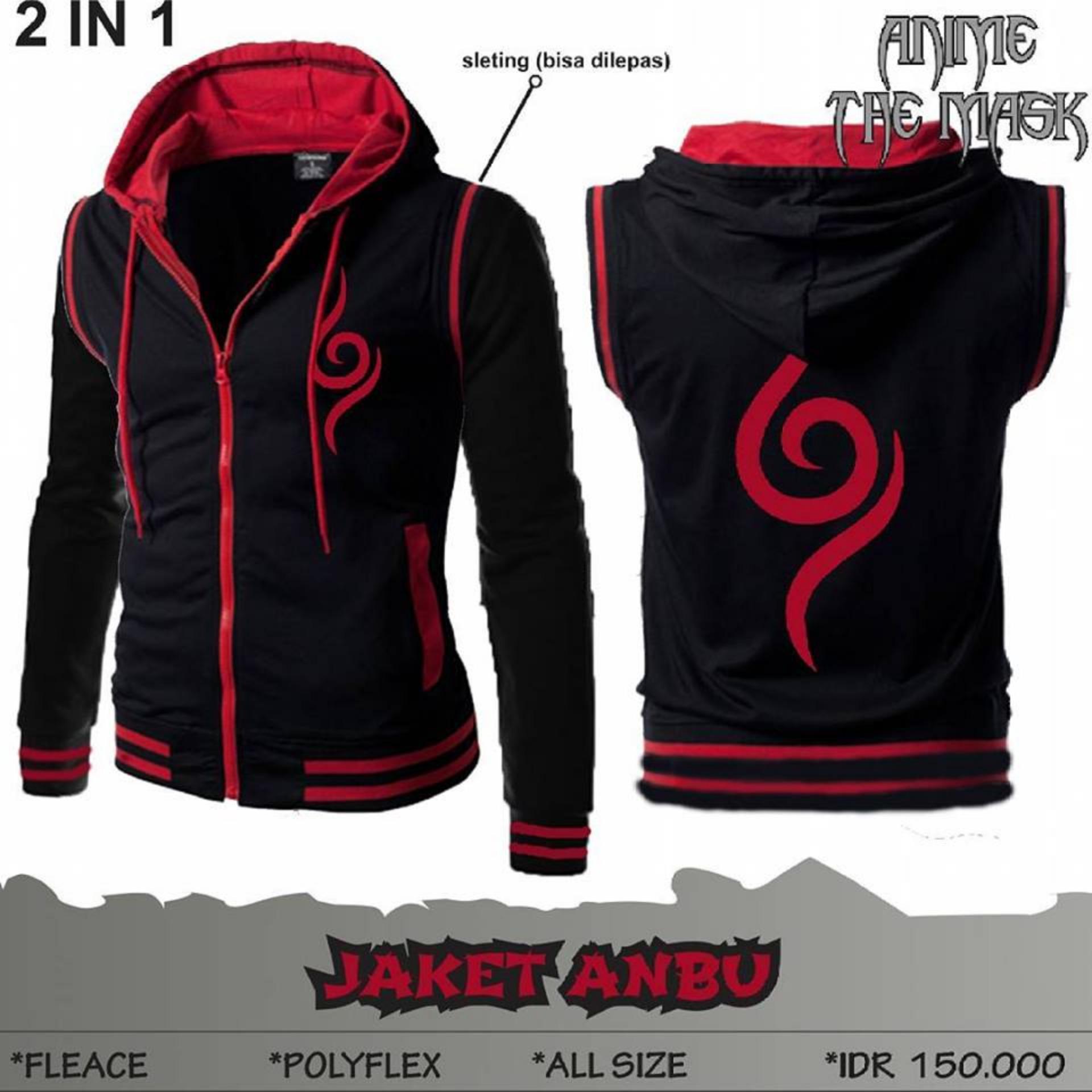 Beli Jaket Anime 2In1 Naruto Anbu Kredit Jawa Barat